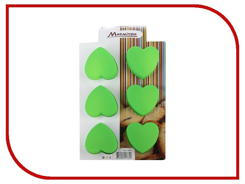Кухонная принадлежность Marmiton Сердечки - форма для выпечки 16022<br>