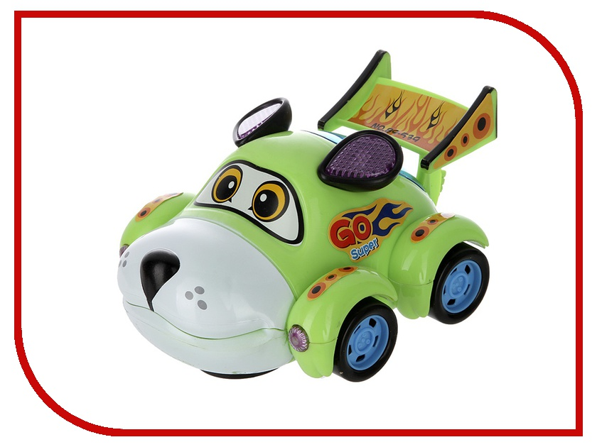 Игрушка Panawealth Машинка Врумиз VR004g Green врумиз машинка со звуковыми и световыми эффектами спиди врумиз