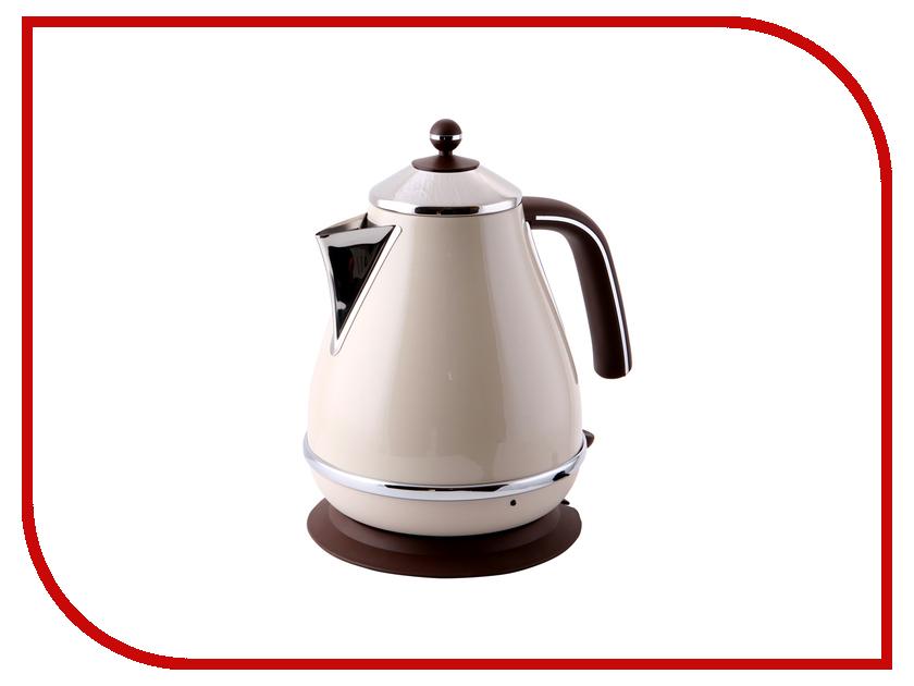 Чайник DeLonghi KBOV-2001 Beige чайник delonghi kbov 2001 green