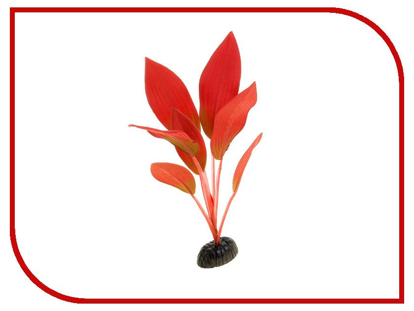 Аксессуар Шелковое растение МЕДОСА Эхинодорус Амазонка 30 см Red YM-12