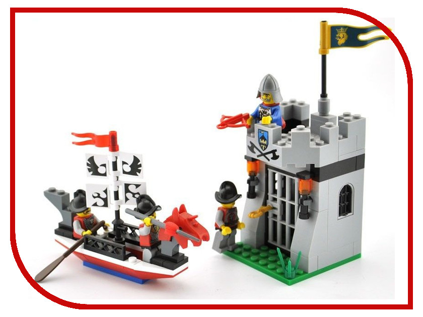 Игрушка Enlighten Brick Замок с фигурками 1017<br>