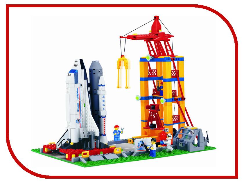 Игрушка Enlighten Brick Космодром с космическим кораблем 515<br>