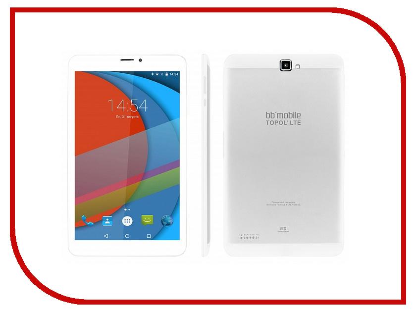 Планшет BB-mobile Techno 8.0 LTE TOPOL TQ863Q White + BB-Mobile Micron 3 White-Blue