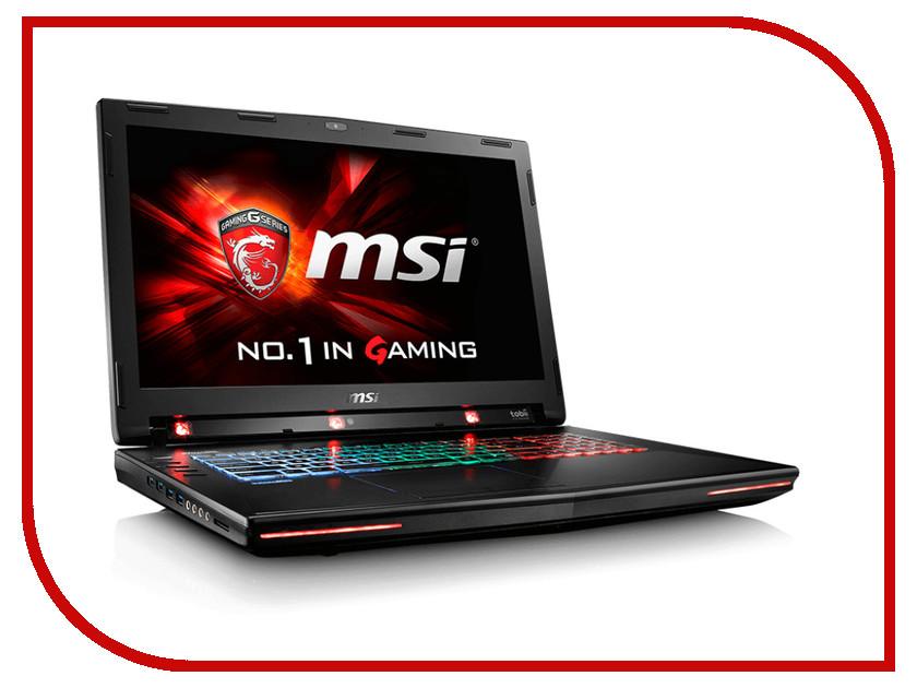 Ноутбук MSI GT72S 6QE-1019RU 9S7-178233-1019 Intel Core i7-6820HK 2.7 GHz/32768Mb/1000Gb + 256Gb SSD/BD-RW/nVidia GeForce GTX 980M 4096Mb/Wi-Fi/Bluetooth/Cam/17.3/1920x1080/Windows 10 64-bit<br>