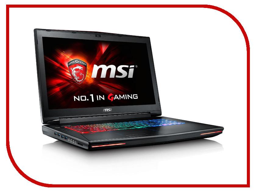 Ноутбук MSI GT72S 6QE-828RU 9S7-178211-828 Intel Core i7-6700HQ 2.6 GHz/16384Mb/1000Gb/DVD-RW/nVidia GeForce GTX 980M 4096Mb/Wi-Fi/Bluetooth/Cam/17.3/1920x1080/Windows 10 64-bit<br>
