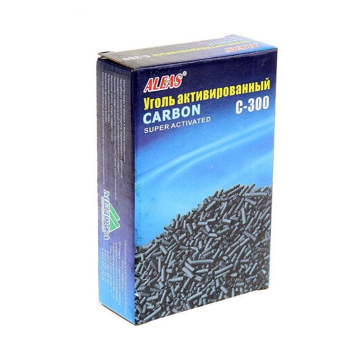 Средство Aleas Активированный уголь 300 гр C-300