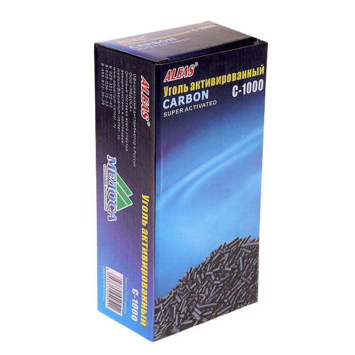 Средство Aleas Активированный уголь 1000 гр C-1000
