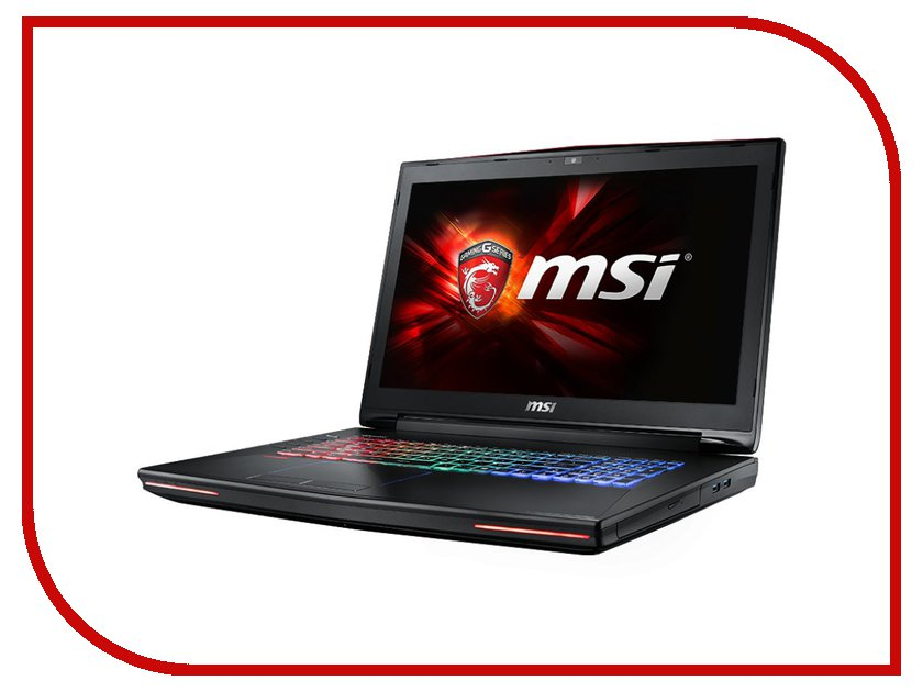 Ноутбук MSI GT72S 6QD-843RU 9S7-178211-843 Intel Core i7-6700HQ 2.6 GHz/16384Mb/1000Gb + 128Gb SSD/DVD-RW/nVidia GeForce GTX 970M 3072Mb/Wi-Fi/Bluetooth/Cam/17.3/1920x1080/Windows 10 64-bit