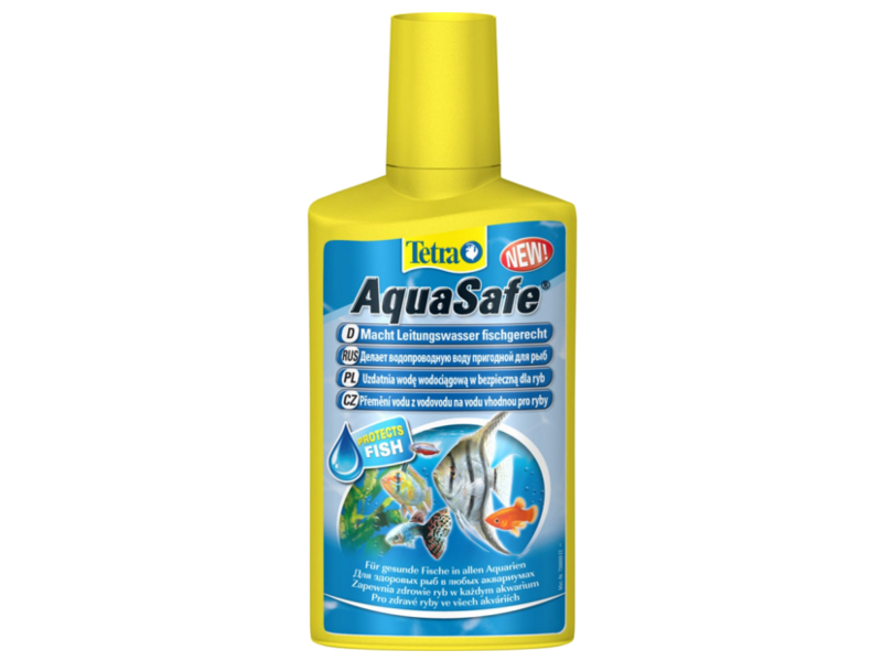 Средство Tetra AquaSafe Tet-762732 - кондиционер для подготовки воды 100мл на 200л