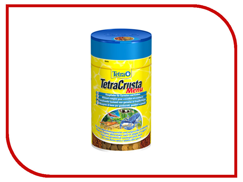 Tetra TetraCrusta Menu 100ml для креветок Tet-171794<br>