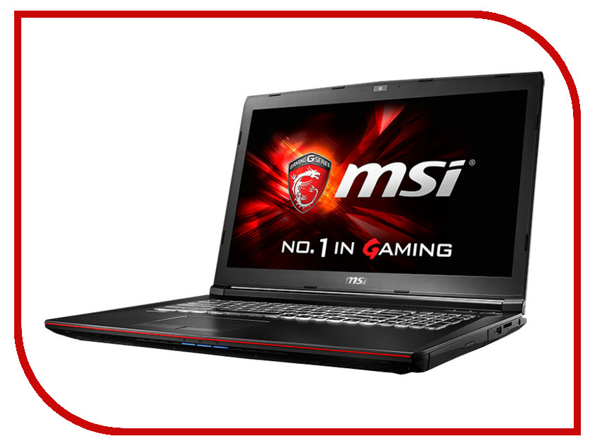 Ноутбук MSI GP72 6QF-276XRU 9S7-179553-276 Intel Core i5-6300HQ 2.3 GHz/8192Mb/1000Gb/DVD-RW/nVidia GeForce GTX 960M 2048Mb/Wi-Fi/Bluetooth/Cam/17.3/1920x1080/DOS
