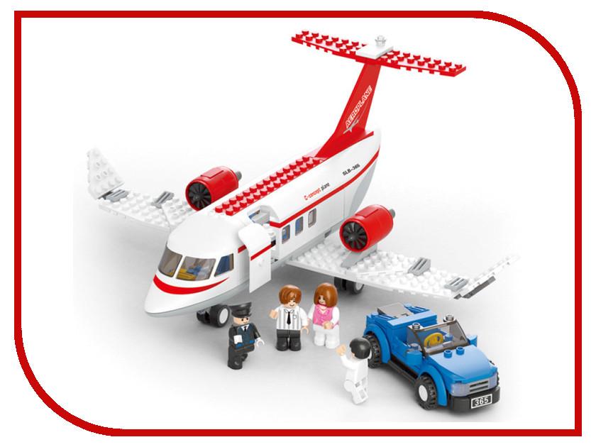 Игрушка Конструктор Sluban Aviation Самолет и машинка M38-B0365R