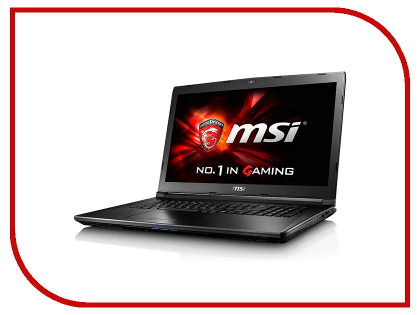 Ноутбук MSI GL72 6QD-007XRU 9S7-179675-007 Intel Core i5-6300HQ 2.3 GHz/8192Mb/1000Gb/DVD-RW/nVidia GeForce GTX 950M 2048Mb/Wi-Fi/Bluetooth/Cam/17.3/1920x1080/DOS<br>