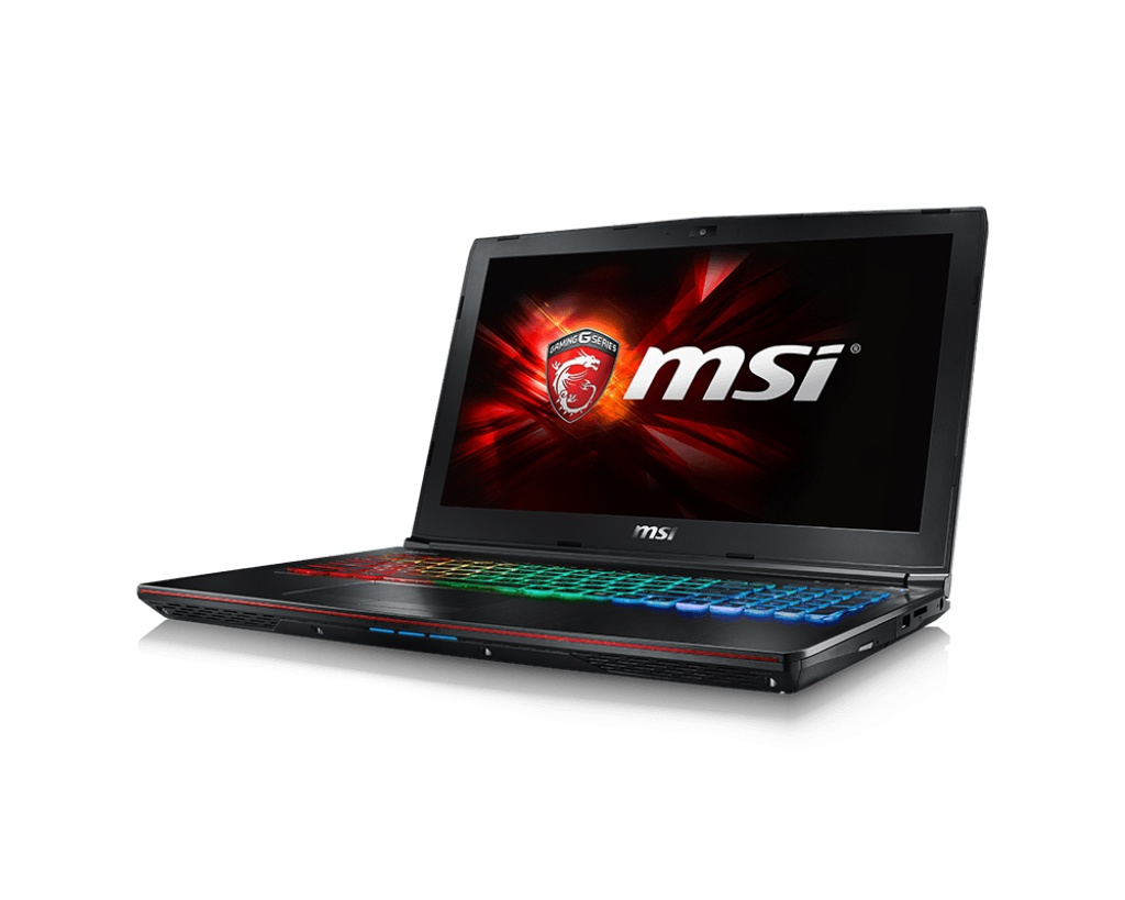 Ноутбук MSI GE62 6QF-018RU 9S7-16J412-018 Intel Core i7-6700HQ 2.6 GHz/16384Mb/1000Gb + 128Gb SSD/DVD-RW/nVidia GeForce GTX 970M 3072Mb/Wi-Fi/Bluetooth/Cam/15.6/1920x1080/Windows 10 64-bit