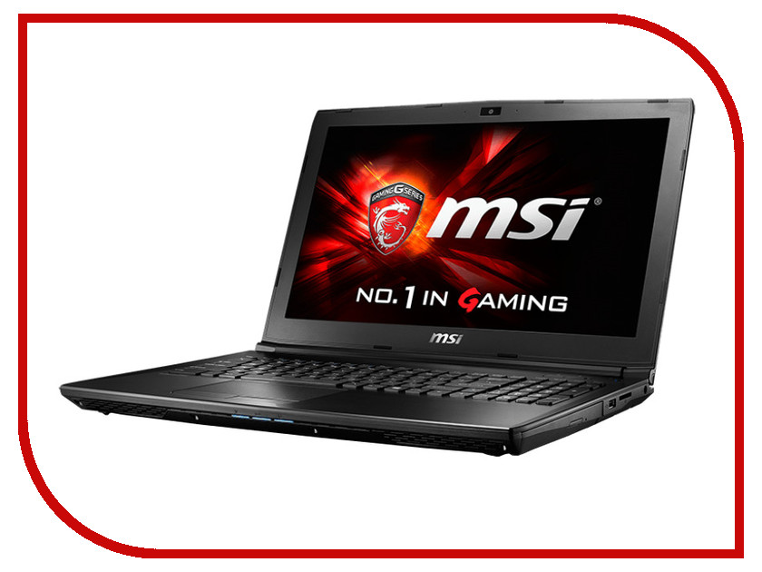 Ноутбук MSI GL62 6QD-006RU 9S7-16J612-006 Intel Core i7-6700HQ 2.6 GHz/8192Mb/1000Gb/DVD-RW/nVidia GeForce GTX 950M 2048Mb/Wi-Fi/Bluetooth/Cam/15.6/1920x1080/Windows 10 64-bit<br>
