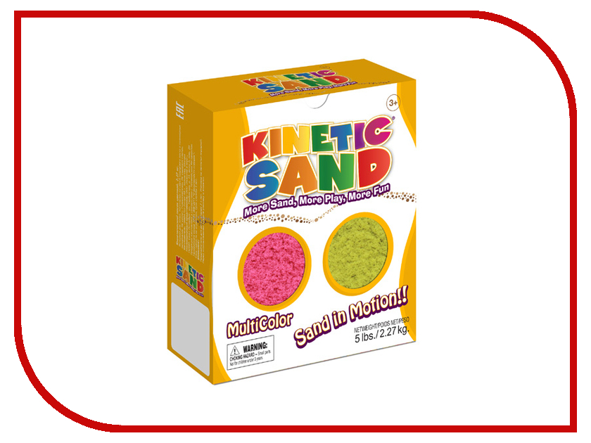 Набор для лепки Waba Fun Kinetic Sand 2.27 кг Pink-Yellow<br>