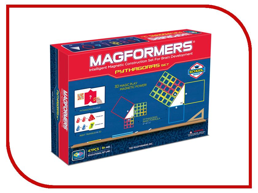 Конструктор Magformers Пифагор 63113 пифагор рюкзак детский лошадка