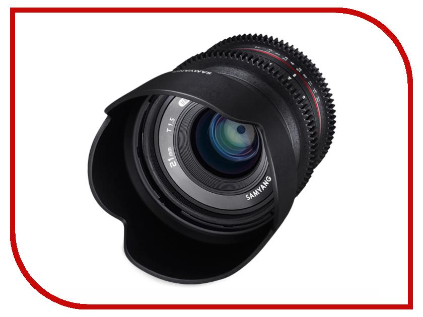 Объектив Samyang Olympus Micro 4/3 21 mm T1.5 ED AS UMC CS<br>