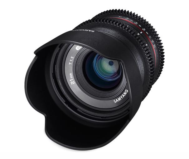Объектив Samyang Fujifilm X 21 mm T1.5 ED AS UMC CS<br>