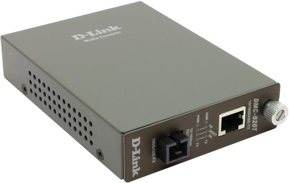 Медиаконвертер D-Link DMC-920T/B7A<br>