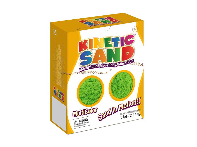 Живой песок Waba Fun Kinetic Sand 2.27 кг Green 150-703<br>