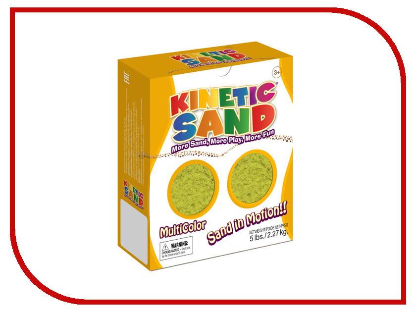 Набор для лепки Waba Fun Kinetic Sand 2.27 кг Yellow 150-203