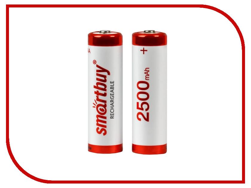 Аккумулятор AA - Smartbuy AA/2BL NiMh 2500 mAh SBBR-2A02BL2500 (2 штуки)<br>