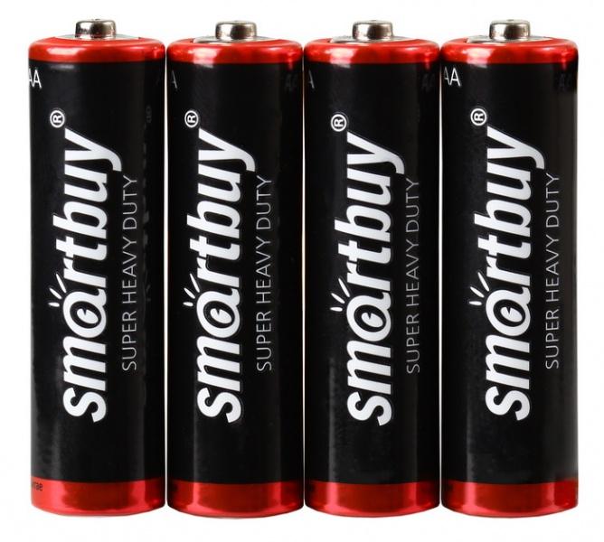 Батарейка AAA - Smartbuy R03/4S SBBZ-3A04S (4 штуки)