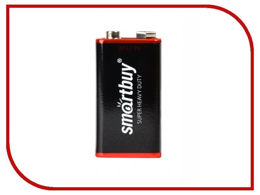 Батарейка КРОНА Smartbuy 6F22/1S SBBZ-9V01S батарейки smartbuy sbbz 3a04b aaa 4 шт