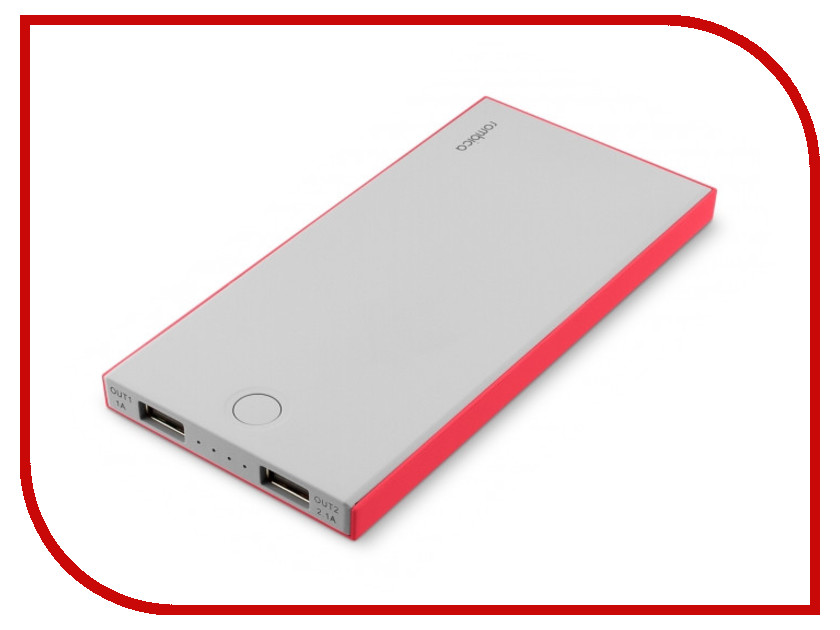 Аккумулятор Rombica NEO NS100R 10000mAh Red NS-00100R