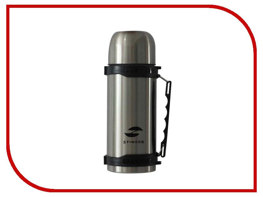 Термос Stinger 0.75L Silver-Black HY-TP201-1 термос stinger 1 л узкий сталь серебристый