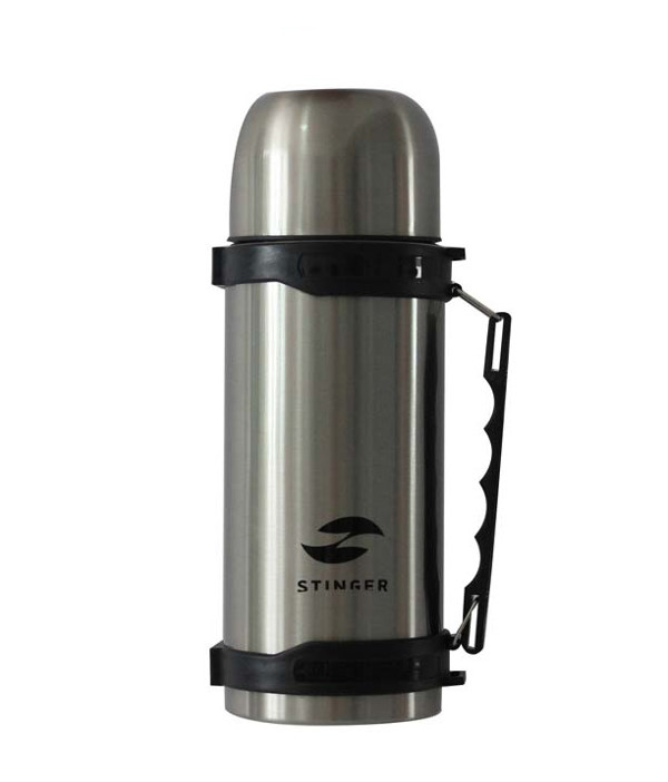 Термос Stinger 0.75L Silver-Black HY-TP201-1
