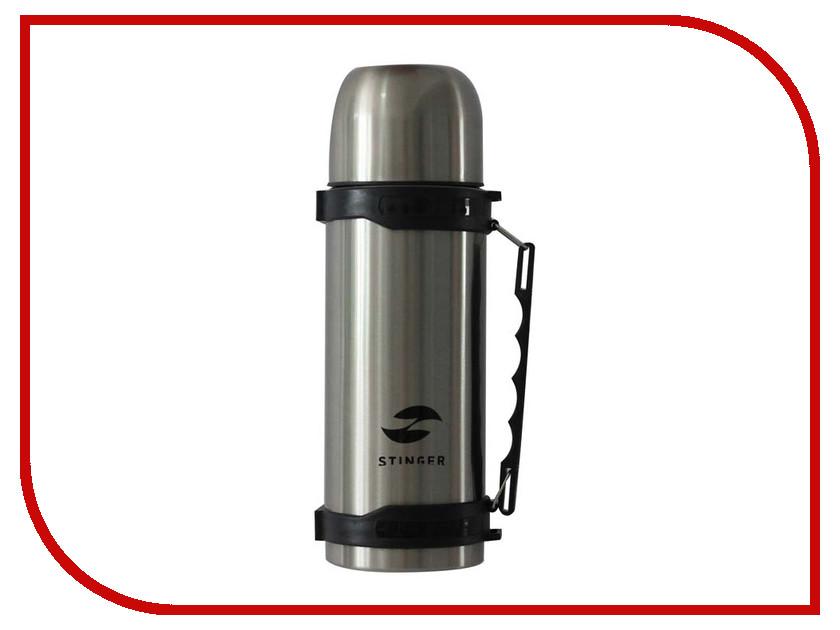 Термос Stinger 1L Silver-Black HY-TP201-2