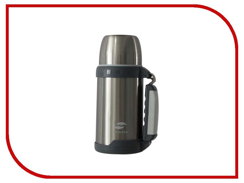 Термос Stinger 1L Silver-Grey HY-TP201-4