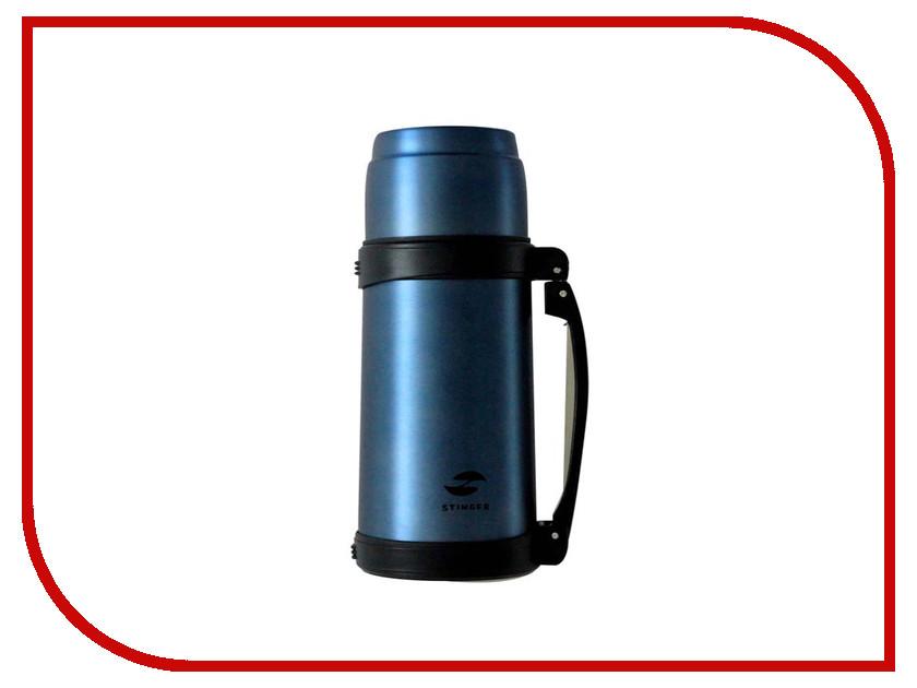 Термос Stinger 0.8L Matte Blue HY-TP205-1 термос stinger 1 л узкий сталь серебристый