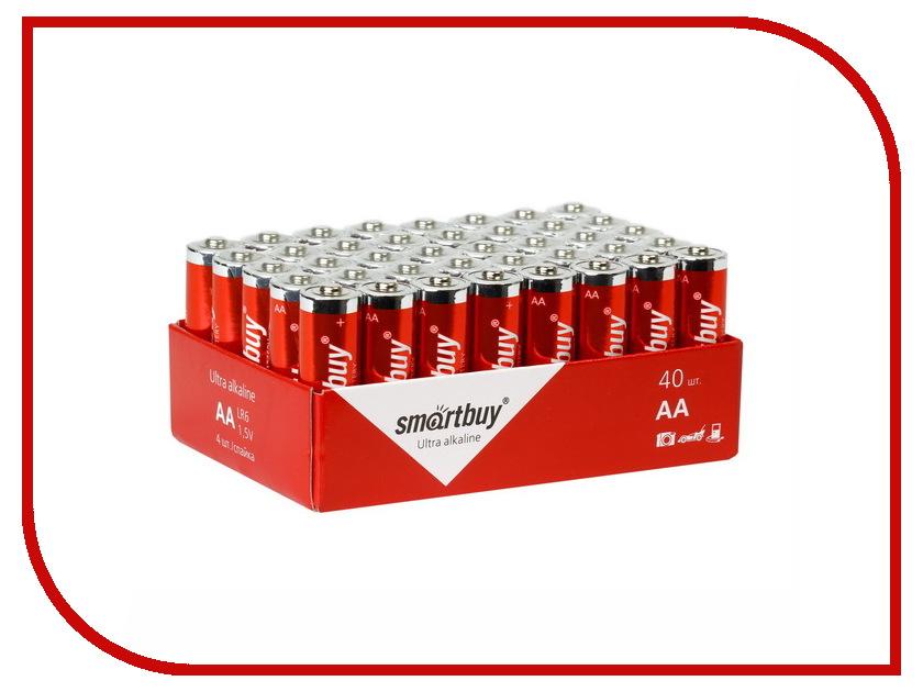 Батарейка AA - Smartbuy LR6/40 Bulk SBBA-2A40S (40 штук)<br>