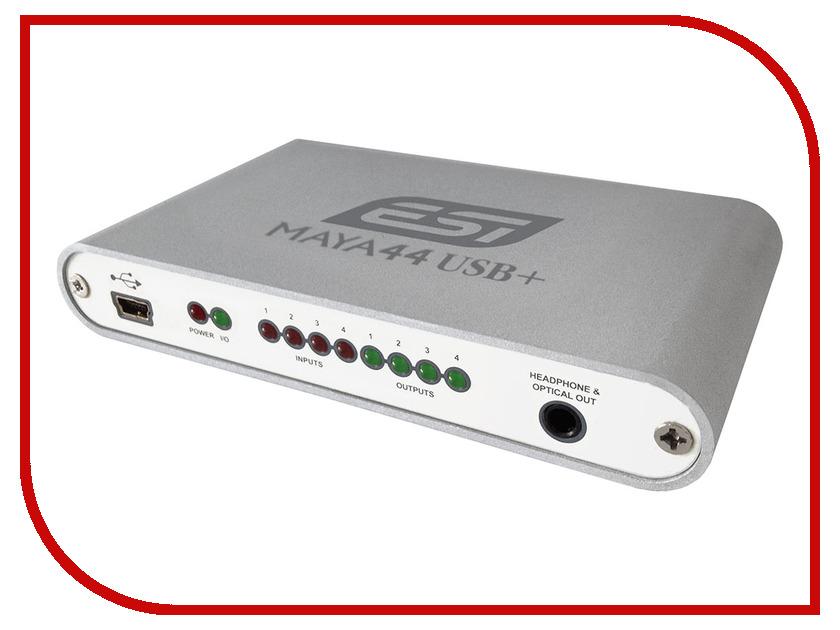 Звуковая карта ESI MAYA44 USB+<br>