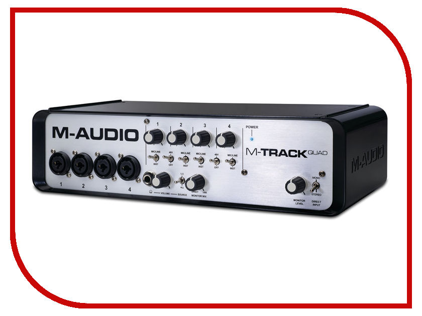 Аудиоинтерфейс M-Audio MTrack Quad
