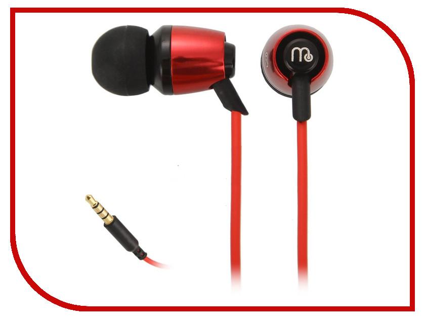Гарнитура Molecula EM-921 Red цена