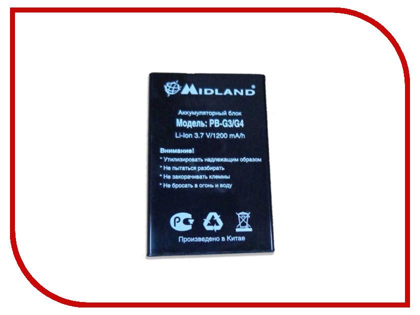 Аккумулятор Midland PB-G3/G4 рация midland gxt 850