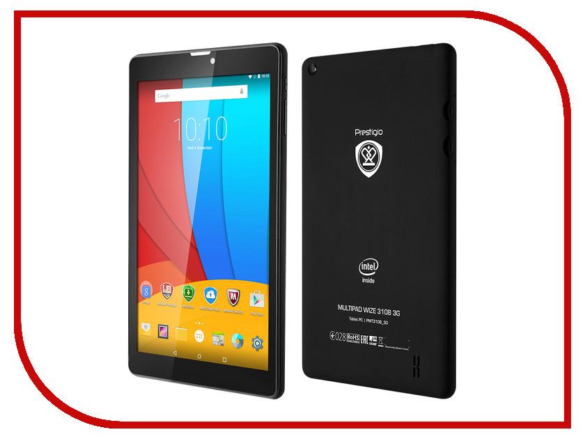 Планшет Prestigio MultiPad Wize 3108 3G Black PMT3108_3G_C_CIS Intel Atom x3 C3230RK 1.2 GHz/1024Mb/8Gb/Wi-Fi/3G/Bluetooth/Cam/8.0/1280x800/Android
