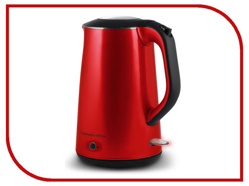 Чайник Zigmund & Shtain KE-79 Red чайник электрический ke 317psw