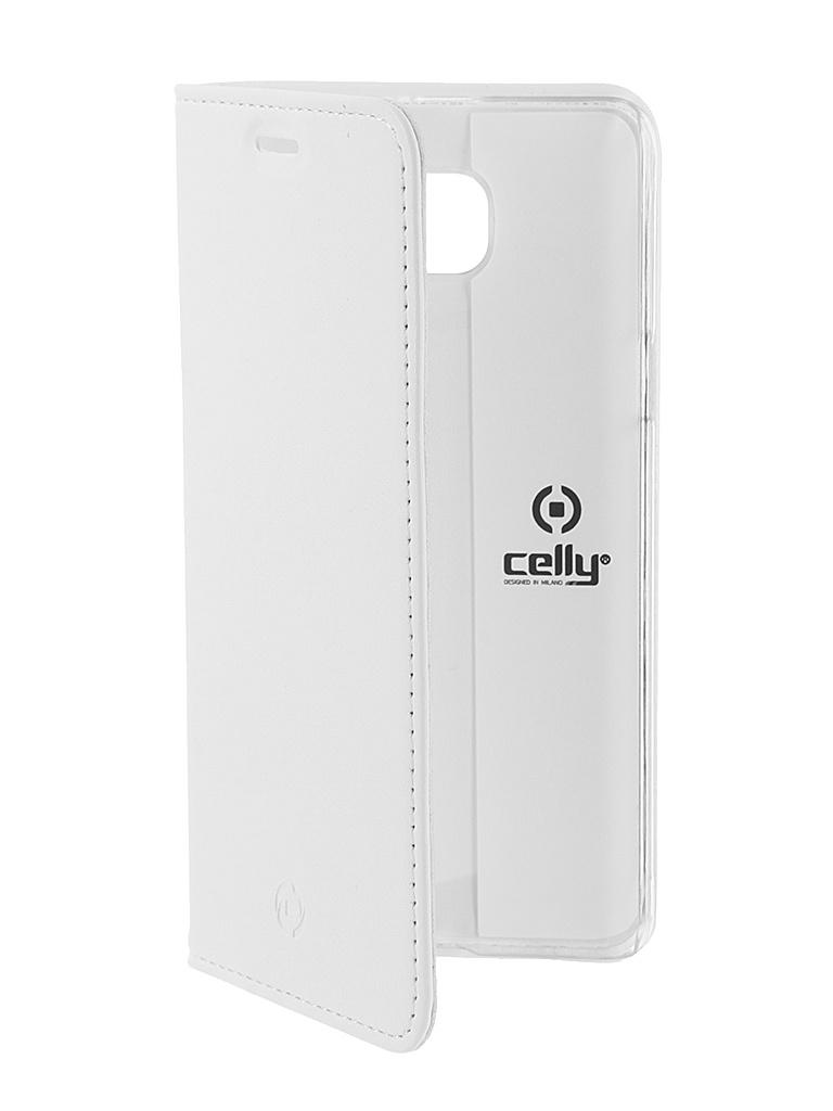 Аксессуар Чехол Samsung Galaxy A5 2016 Celly Air Case White AIR535WH<br>