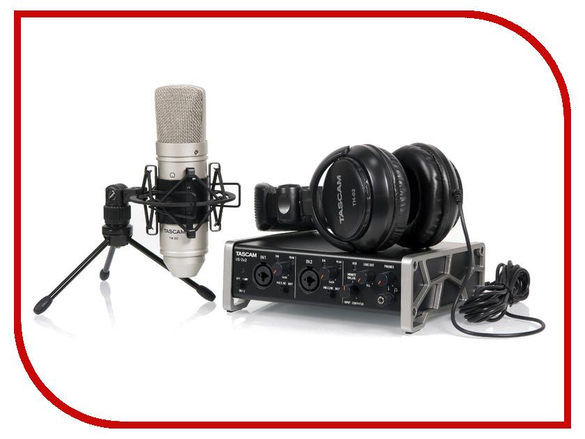 Комплект для звукозапсиси Tascam TrackPack 2x2<br>