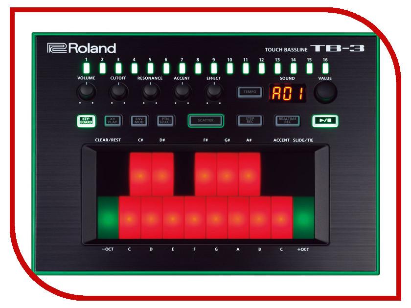 Синтезатор Roland AIRA TB-3 вокальный процессор roland vp 03