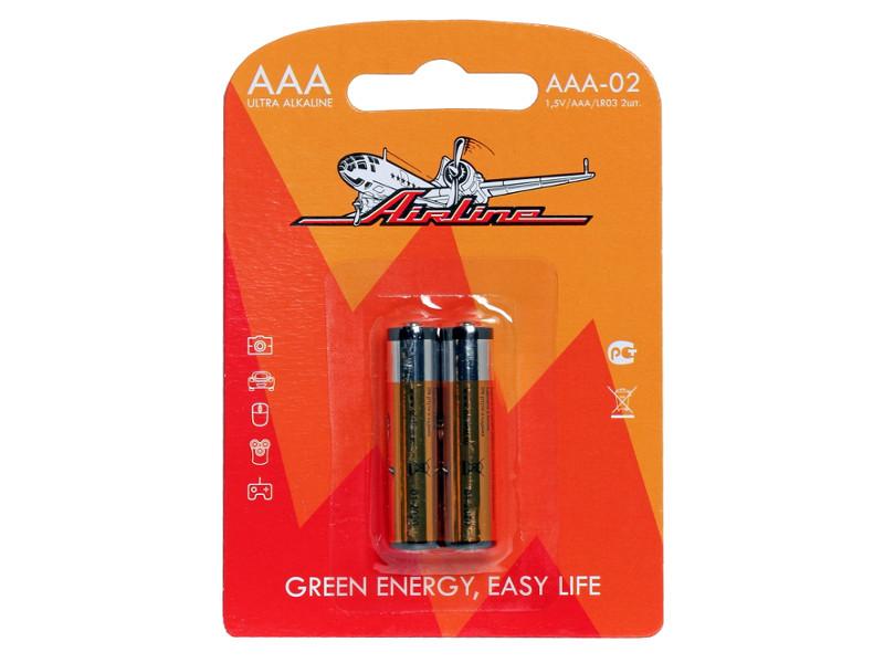 Батарейка AAA - Airline AAA-02 LR03 (2 штуки)