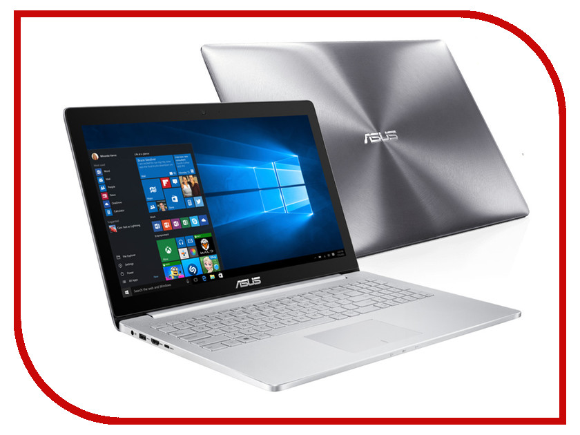 Ноутбук ASUS Zenbook Pro UX501VW-FY110R 90NB0AU2-M01550 Intel Core i7-6700HQ 2.6 GHz/12288Mb/1000Gb + 128Gb SSD/nVidia GeForce GTX 960M 2048Mb/Wi-Fi/Bluetooth/Cam/15.6/1920x1080/Windows 10 64-bit<br>