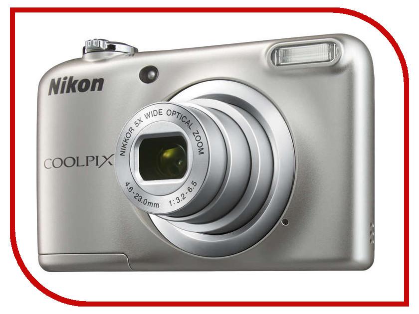 Фотоаппарат Nikon Coolpix A10 Silver фотоаппарат