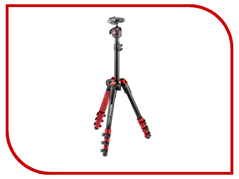 Штатив Manfrotto Befree One MKBFR1A4R-BH Red