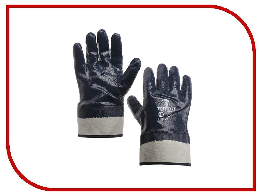 Аксессуар ЛЭВ Перчатки МБС П1 1/200 с полным нитрильним обливом, манжет крага<br>